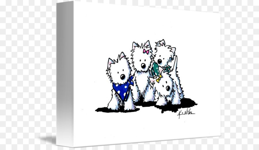 West Highland White Terrier Cairn Terrier Wire Hair Fox Terrier ...