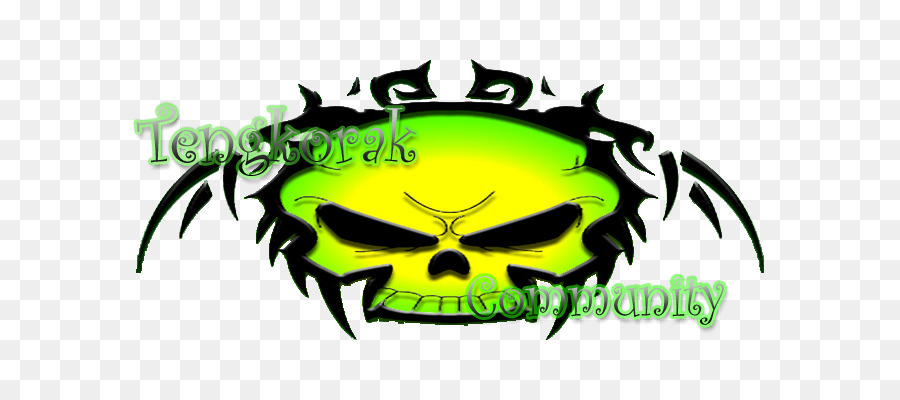 Brand Skull Logo Clip Art Gambar Keren Png Download 700