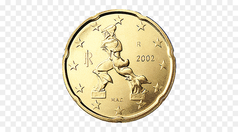 Italien 20 Cent Euro Münze Italienischen Euro Münzen 1 Cent Euro