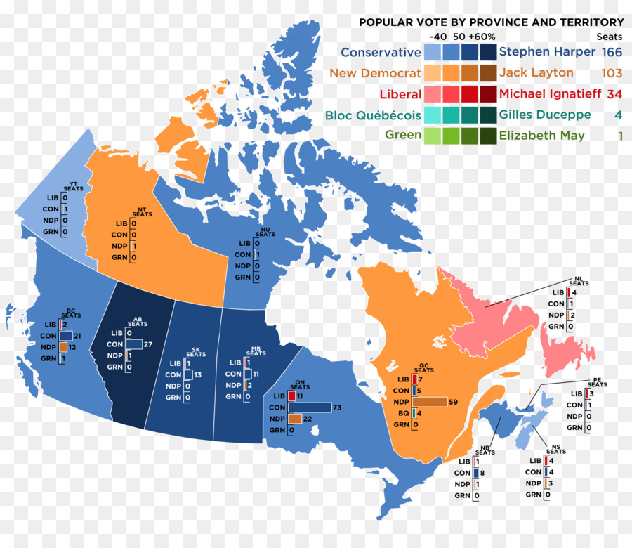 Download Map Of Canada.Canada Map Canadian Federal Election 2011 Canada Png Download
