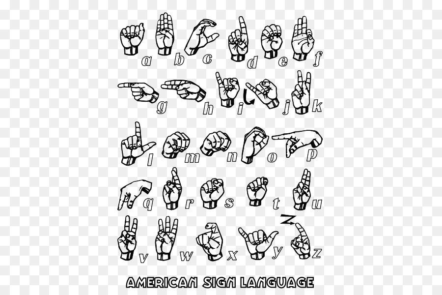 Lenguaje Americano De Señas Británico Lenguaje De Signos Del ...