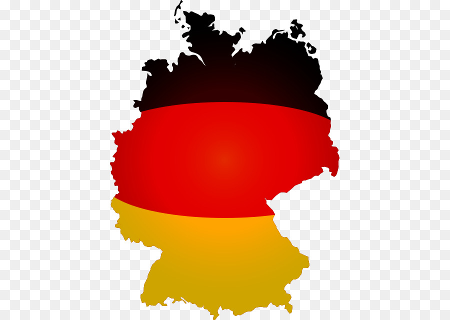 West Germany Flag of Germany East Germany Map - map png download ...