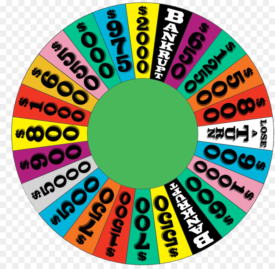 Template Video Game Game Show Wheel Of Fortune Png Download 907