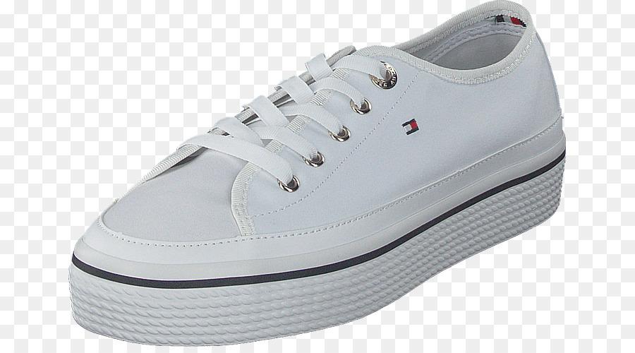 1fd05b697 Tênis Branco Cadarços de sapato de Skate - tommy hilfiger ...