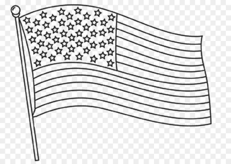 Flag of the United States Coloring book Independence Day - united ...