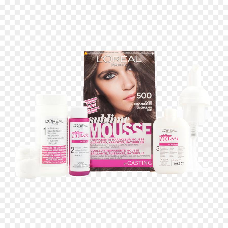 Hair Coloring Hair Mousse Loral Eyelash Hair Png Download 2048