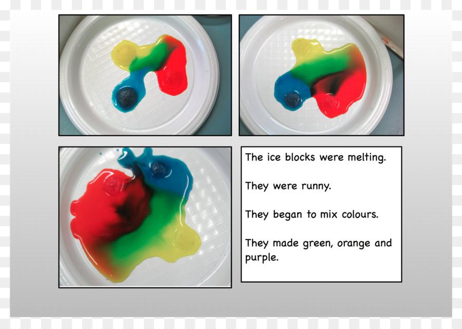 El colorante de comida de plástico - el bloque de hielo png dibujo ...