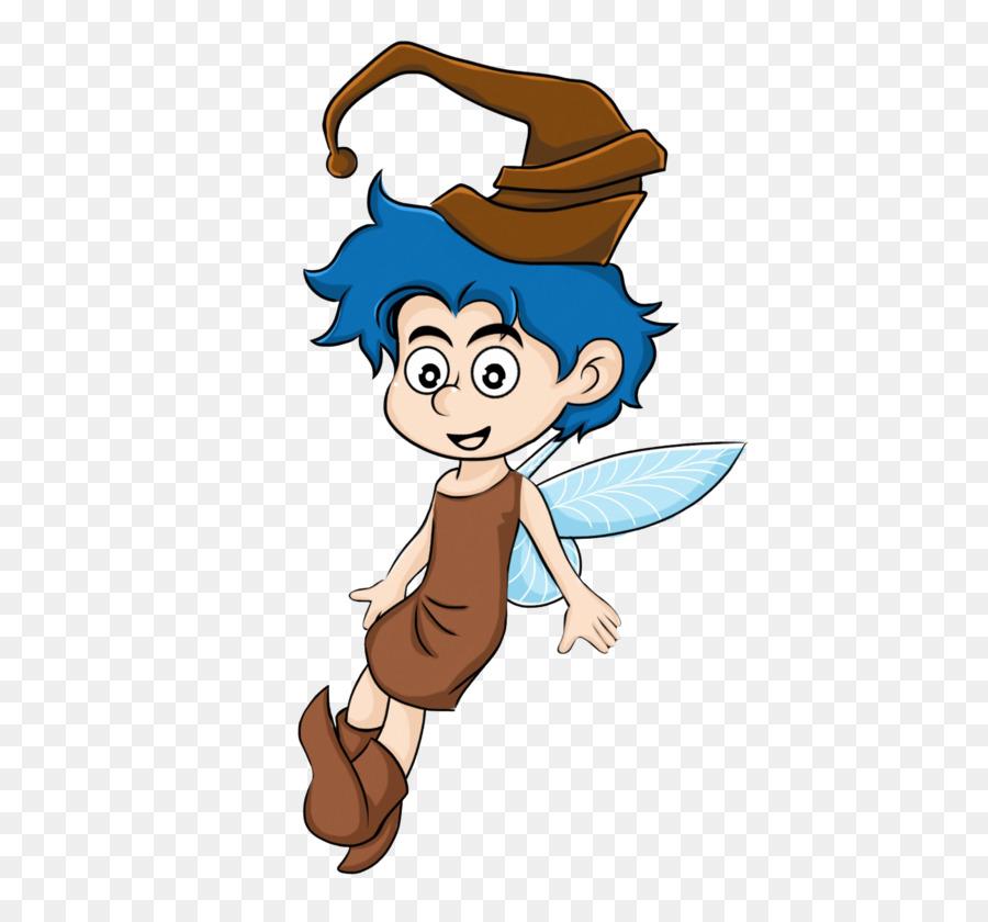 Fairy boy. Cartoon png download free