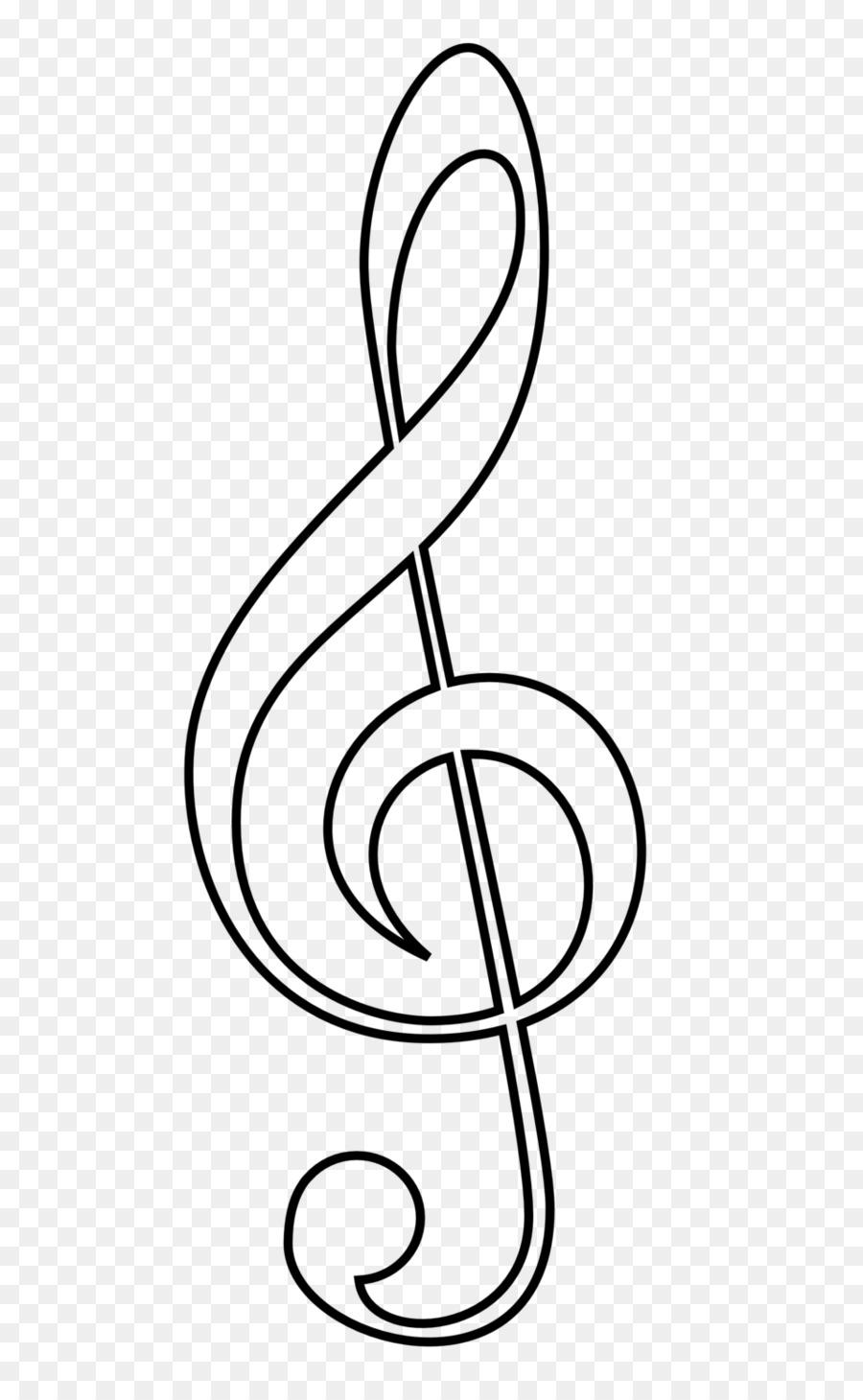 Nota Musicale Chiave Di Violino Alti Libro Da Colorare La Chiave