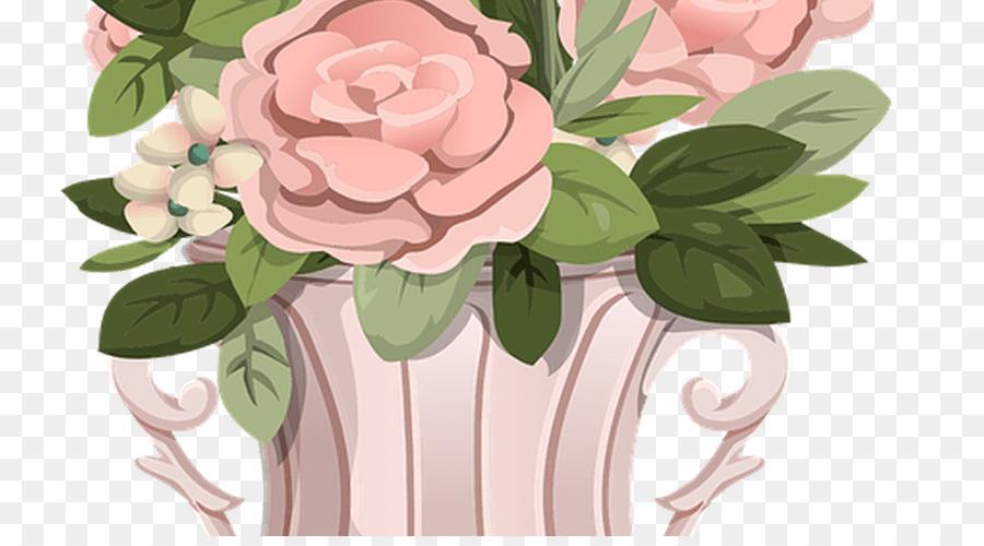 Garden Roses Birthday Greeting Note Cards Flower Bouquet Wish