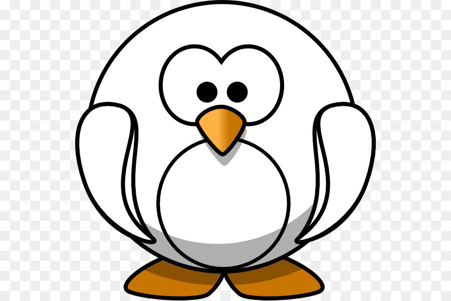 Pingüino del Dibujo Clip Art de Navidad para Colorear libro Clip art ...