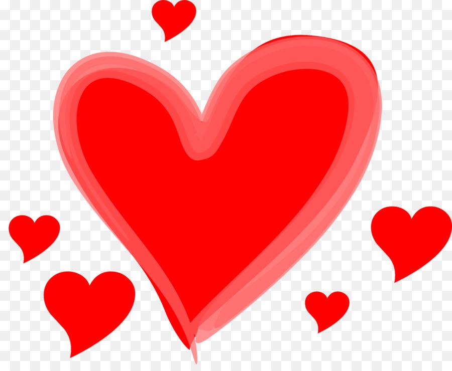 Corazones De Amor Clip Art Hecho Con El Corazón Png Dibujo