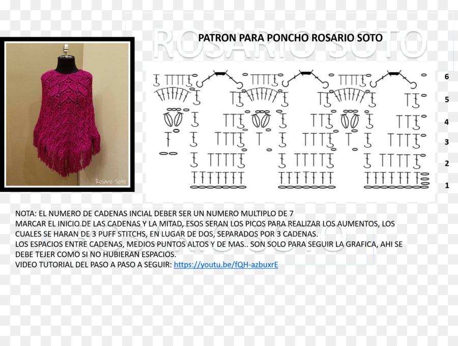 Dress Poncho Crochet Scarf Pattern - dress png download - 1600*1183 ...