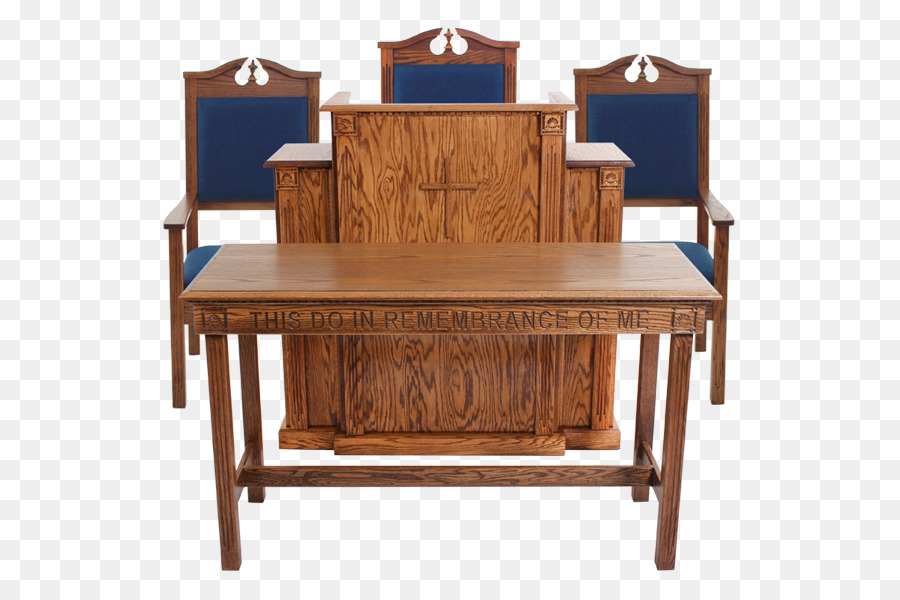 pulpit table altar church furniture wooden podium png download