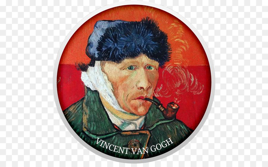 Vincent van Gogh autorretrato con la Oreja Vendada y Tubería de Van ...