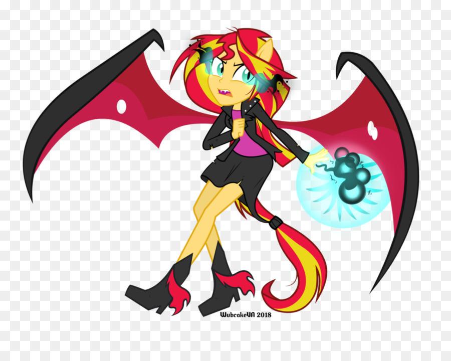 Sunset Shimmer My Little Pony: Equestria Girls De Dibujos Animados ...