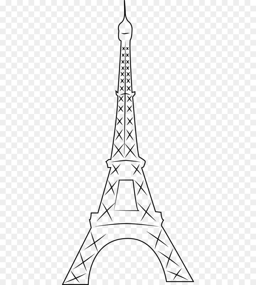 Eiffel Tower Coloring book Washington Monument Paper - eiffel tower ...