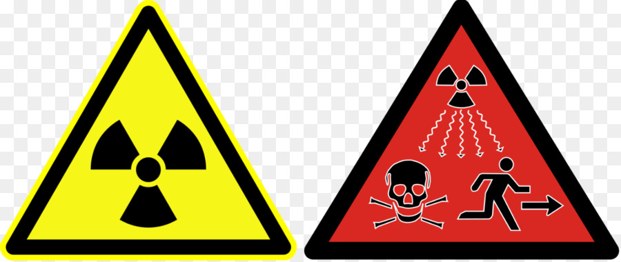 Ionizing Radiation Hazard Symbol Radioactive Decay Radiation