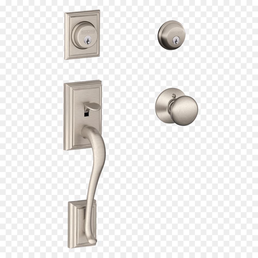 Schlage Dead Bolt Door Handle Lock   Door