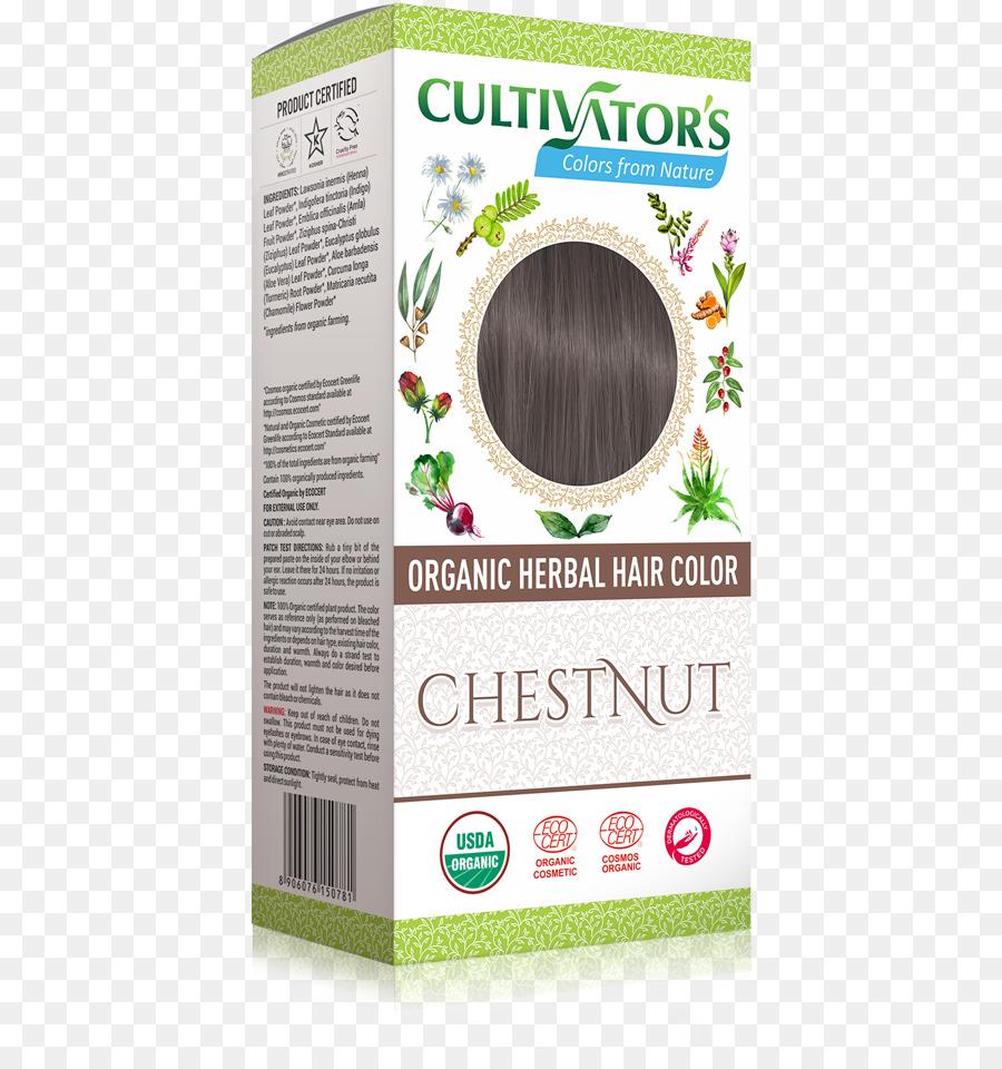 Makanan Organik Manusia Warna Rambut Henna Pewarna Rambut Cokelat