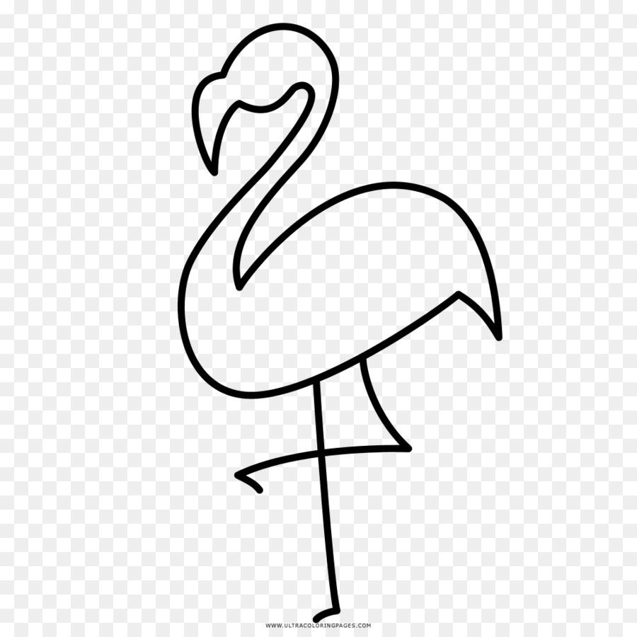 Pico Flamencos Dibujo para Colorear libro Ausmalbild - Aves Formatos ...