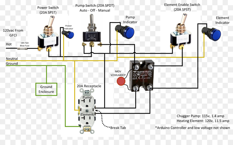 diagram, electronics, wiring diagram, technology png