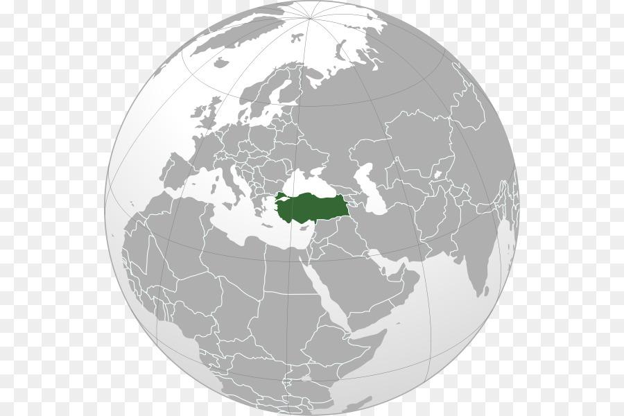 World map Turkey Geoatlas - world map png download - 600*600 - Free ...