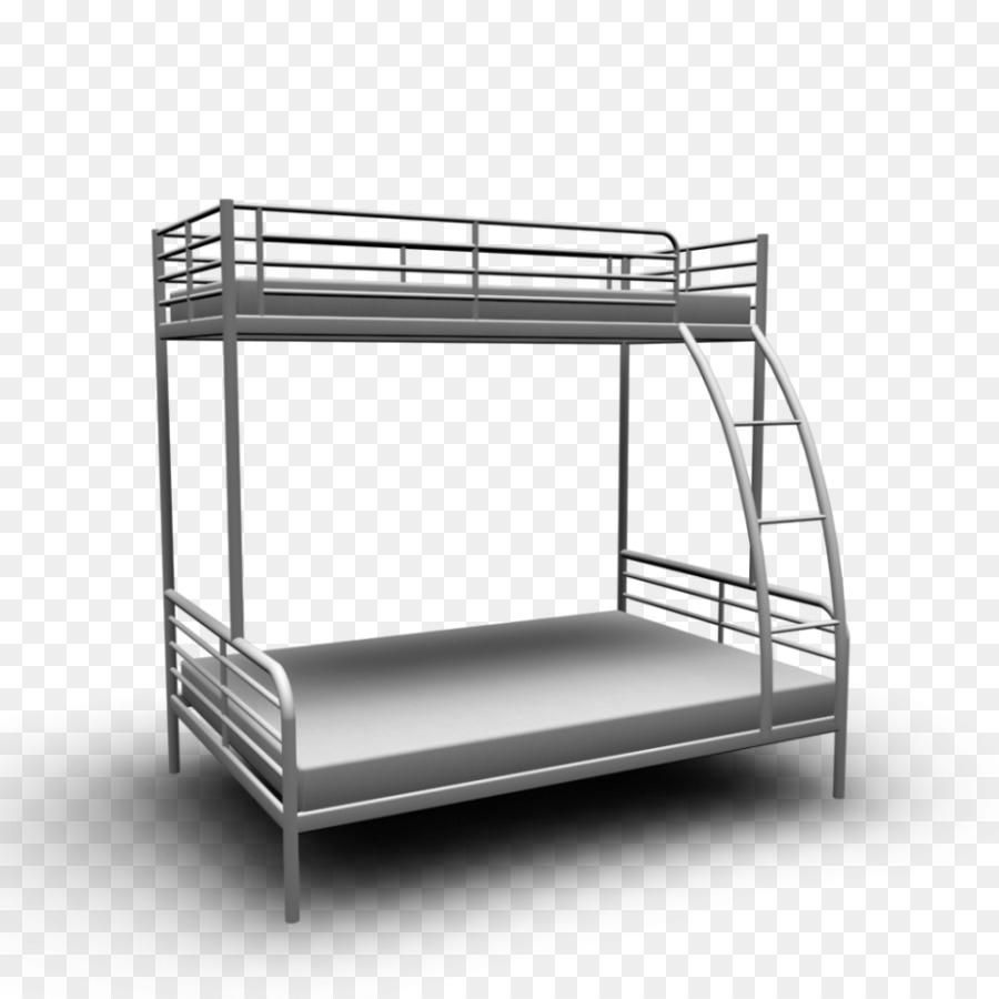 Bunk bed IKEA Bed size Bedroom - ikea black frame bed png download ...