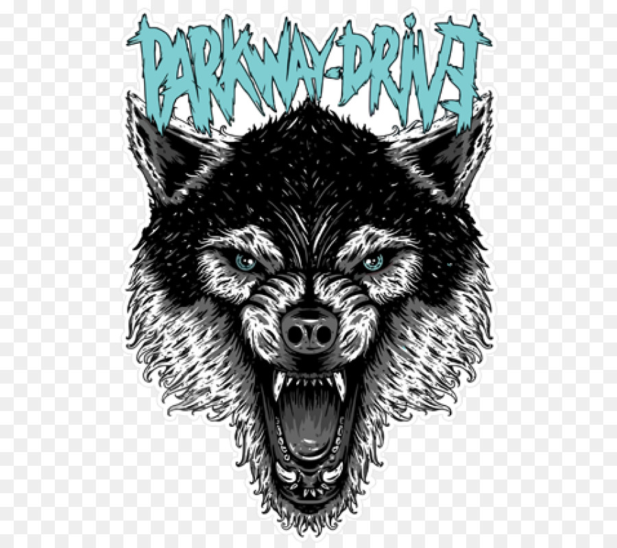 Parkway Drive Metalcore Logo Dog Heavy Metal