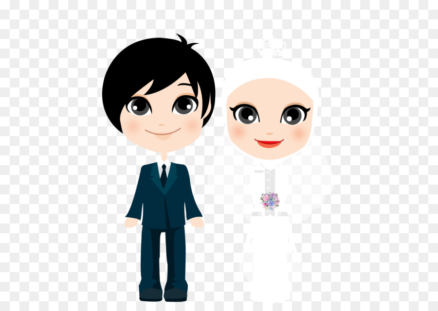 Cartoon Drawing Marriage Child Png Download 640 640 Free