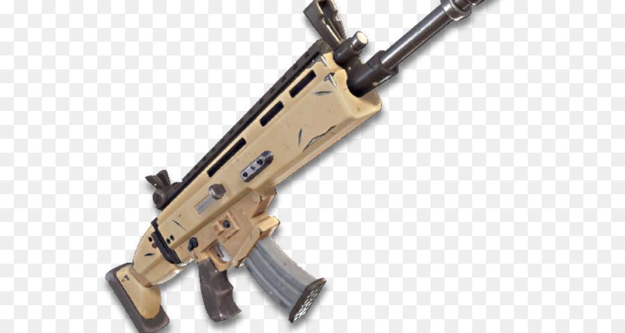 Fortnite Battle Royale Fn Scar Waffe Battle Royale Spiel Waffe Png