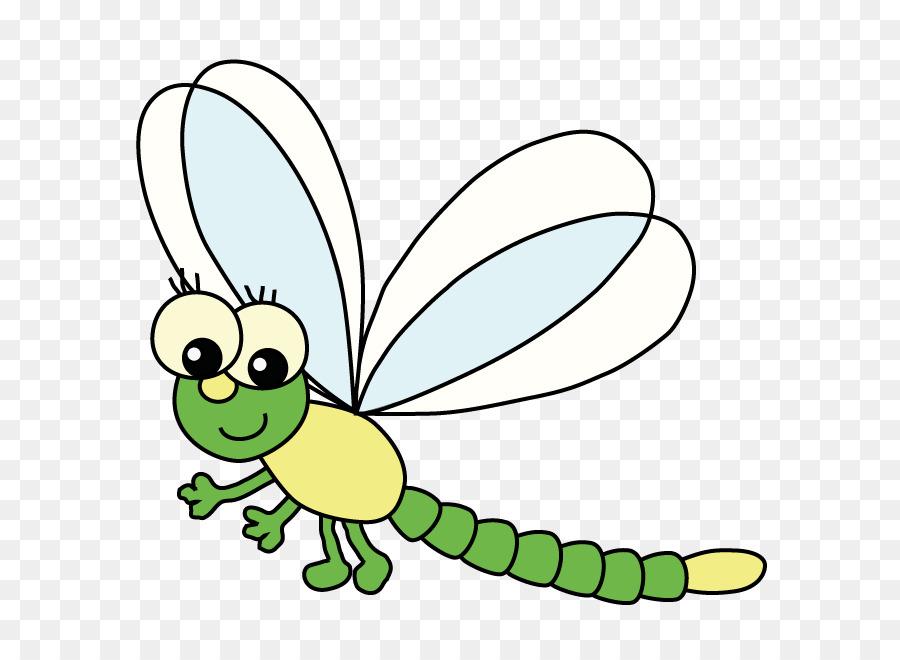 Kita Libelle Child Asilo Nido Insect Clip Art
