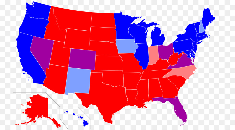United States presidential election, 2012 Red states and blue states ...