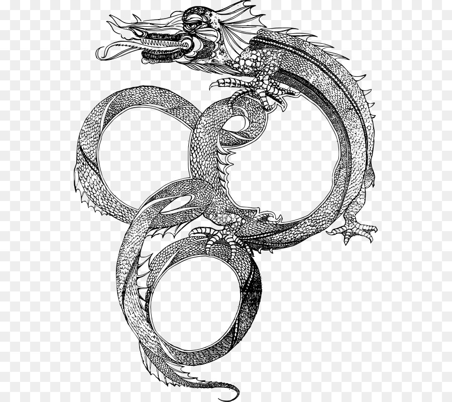 Serpent China Picture Frames Dragon Clip art - China Formatos De ...