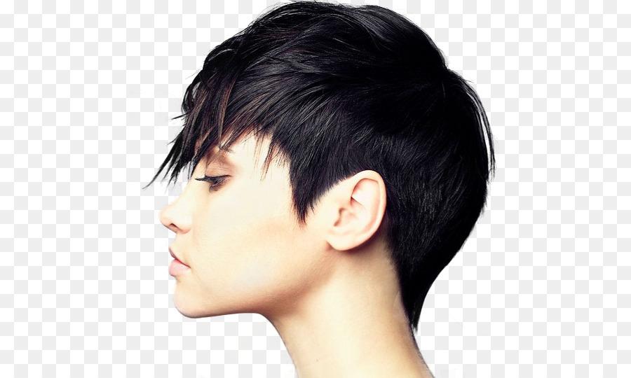 Hairstyle Bangs Long Hair Punk Rock Hair Png Download 527540