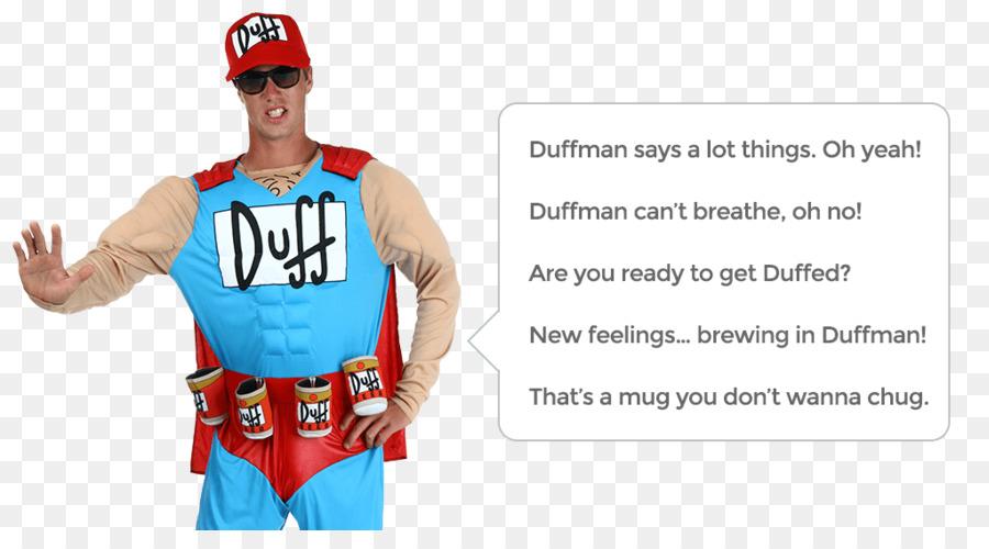 Waiting for Duffman Costume Oh Yeah Duff Beer - duffman simpson  sc 1 st  KissPNG & Waiting for Duffman Costume Oh Yeah Duff Beer - duffman simpson png ...