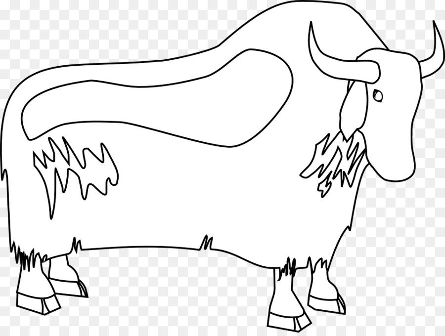 Doméstica yak bisonte Americano Dibujo Clip art - cráneo de búfalo ...