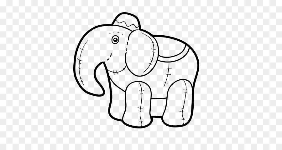 Elefante Africano De Sabana De Dibujo Elephantidae Libro Para