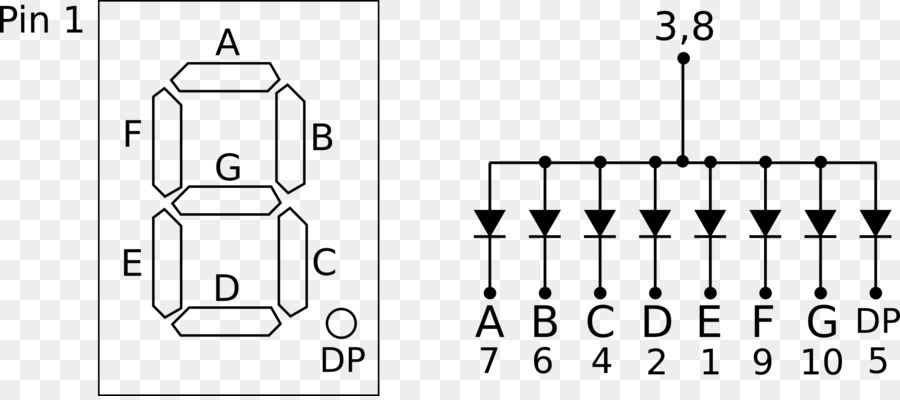 Pleasant Seven Segment Display Pinout Led Display Datasheet Wiring Diagram Wiring Database Gramgelartorg