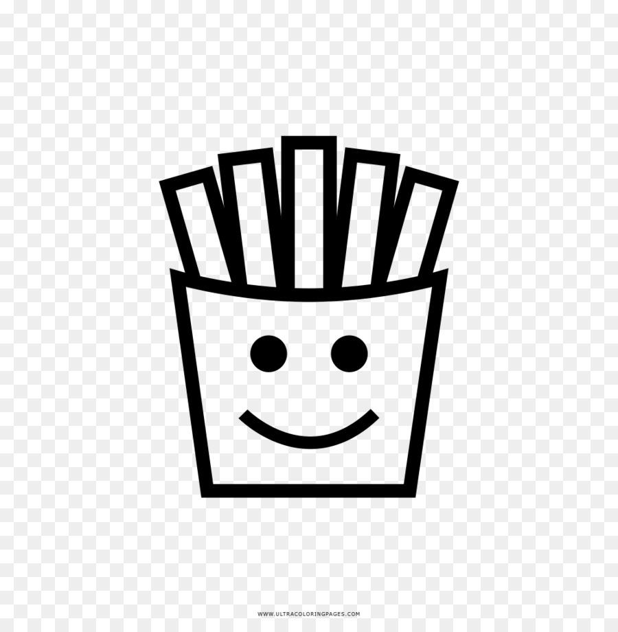 Patatine Fritte Disegno Da Colorare Di Frittura Di Mcdonalds Chip