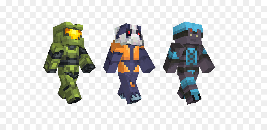 Minecraft Pocket Edition Master Chief Halo Combat Evolved - Skin para minecraft pe halo