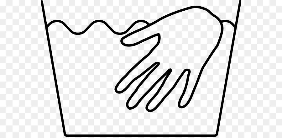 Laundry Symbol Hand Washing Clip Art Handwash Png Download 640