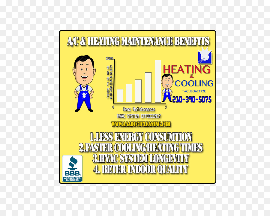 Air conditioning San Antonio Duct Central heating Heating system ...