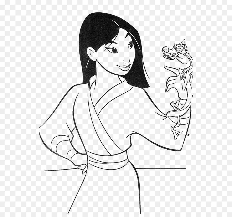 Mushu Fa Mulan Belle Prenses Aurora çizim Disney Prenses Png Indir
