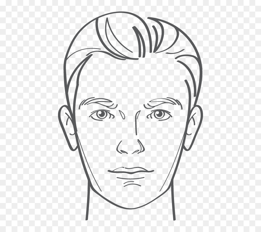Eye Hairstyle Line Art Drawing Face Eye Png Download 600800