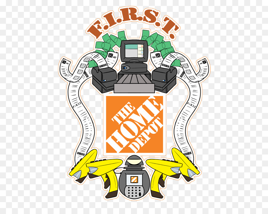The Home Depot Clip Art Home Depot Png Download 540702 Free