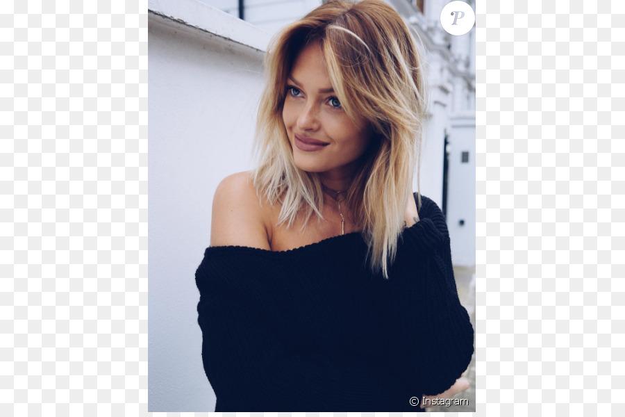 Caroline Receveur Hairstyle Human Hair Color Capelli Fashion