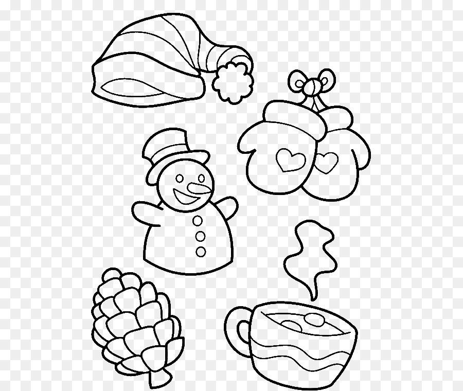 Boyama Kitabı Kış Sezonu Simgesi Sembol Png Indir 600760