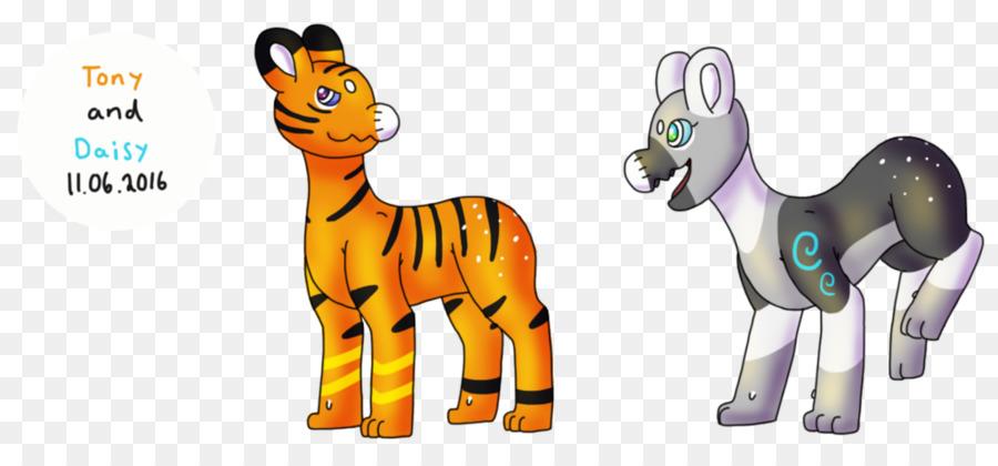 Jerapah Kuda Quagga Hewan Kartun Animasi Tony Harimau Unduh