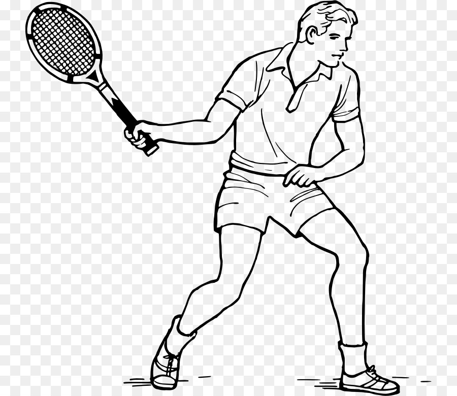 Tennis Balls Racket Drawing Rakieta Tenisowa Tennis Png Download